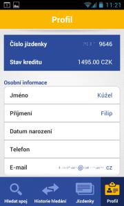 Aplikace Jízdynky od RegioJet