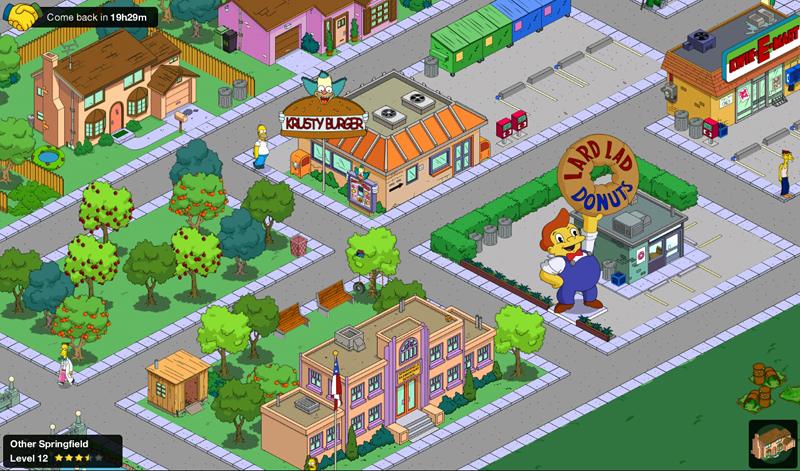 Konkureční Springfield, který můžete jednoíu za 24 hodin navštívit