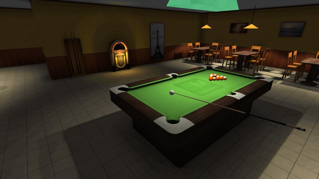 Adventure Pool - intro před hrou