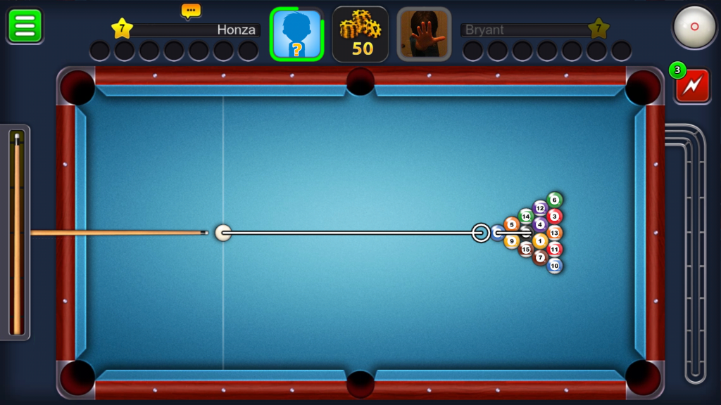8 Ball Pool - rozstřel