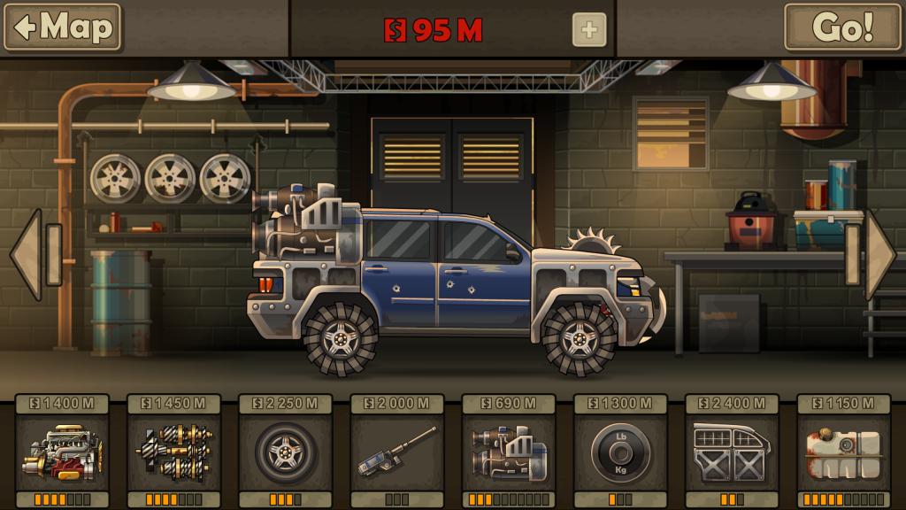 Earn to Die 2 - Garage